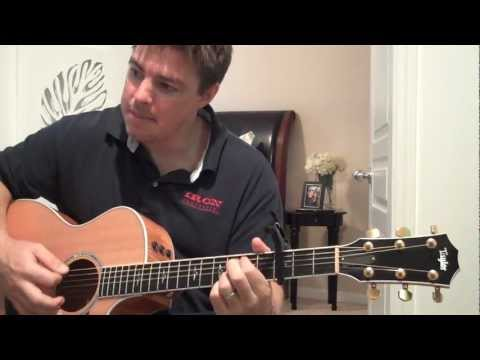 "How To Play ""Holy"" By Matt Redman - (Matt McCoy)"