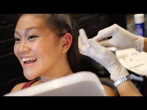 Triple Helix Piercing : All information about - Risks & Painful  & Healing Ear Piercing Piercing