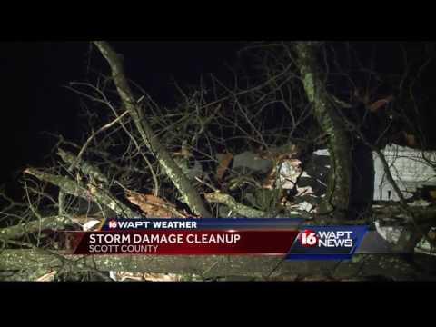 Tornado Storm Cleanup