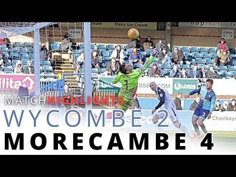 HIGHLIGHTS | Wycombe Wanderers v Morecambe