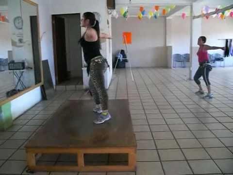 Zumba Con Diana Jlo Ft Pitbull In The Floor Www