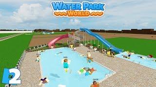 Roblox-parque aquático mundo | Episódio 2-Balance ton Business/FR