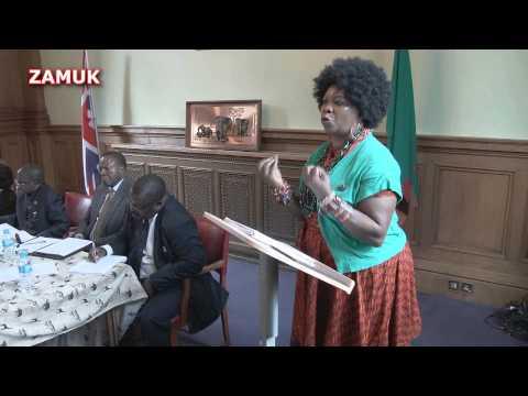 Zambian Diaspora presentation by Florence Bili