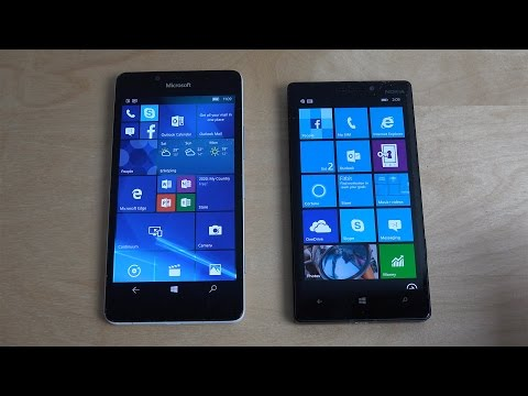 Microsoft Lumia 950 Windows 10 vs. Nokia Lumia 930 Windows Phone 8.1 - Comparison!