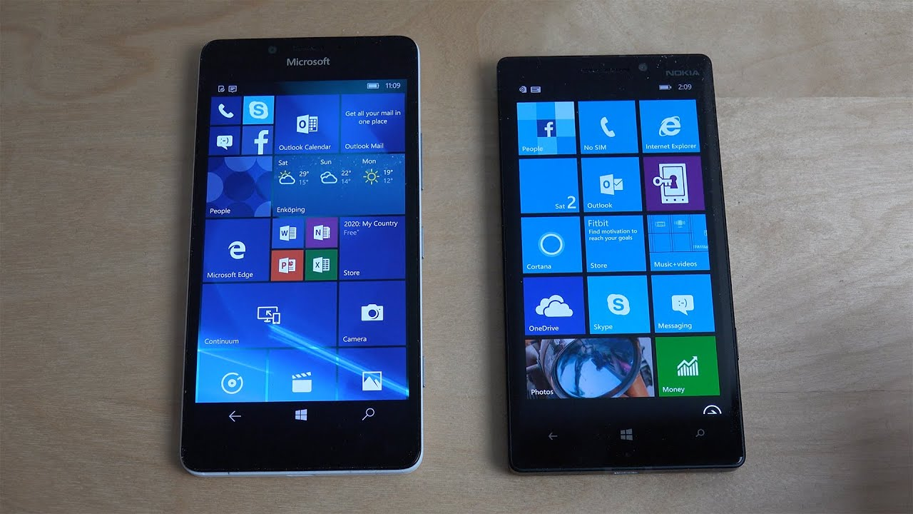 Iphone 7 Live Wallpaper Not Working Microsoft Lumia 950 Windows 10 Vs Nokia Lumia 930 Windows