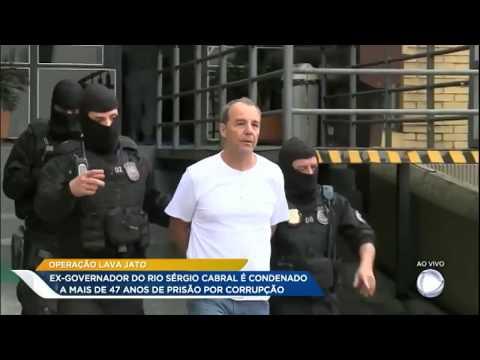 Sérgio Cabral é condenado a mais 47 anos de prisão