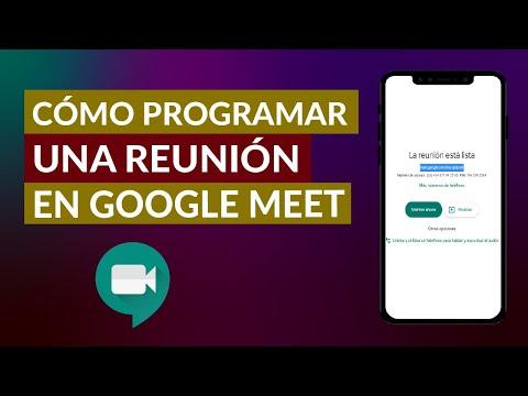 Cómo Puedo Programar una Reunión en Google Meet Rápido y Fácil