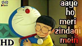 Aaye ho meri zindagi mein Nobita amp Doraemon New animated song 2017