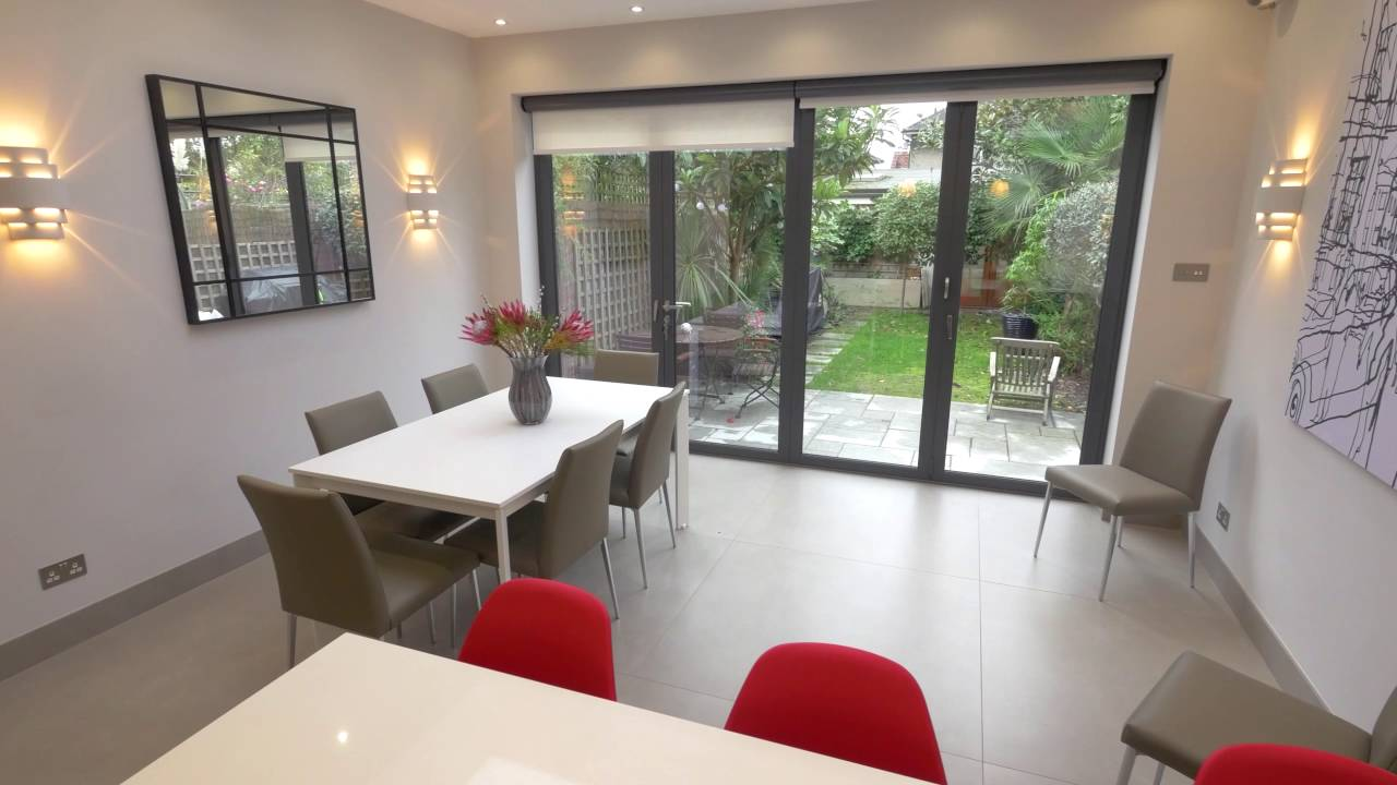 Electric Roller Blinds For Bifolding Doors Youtube