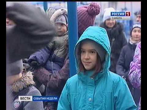 """Открытие спортивного комплекса с уличными тренажерами в ЭкоГраде """"Волгарь"""""""