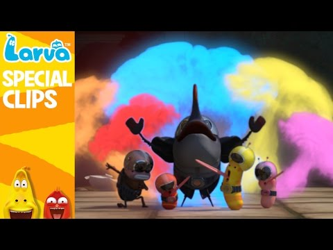 Thumbnail: [Official] LARVA Funny Collection Part3 - Funny Animation