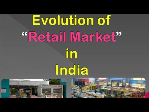 Evolution of Retail Market in India (In detail)