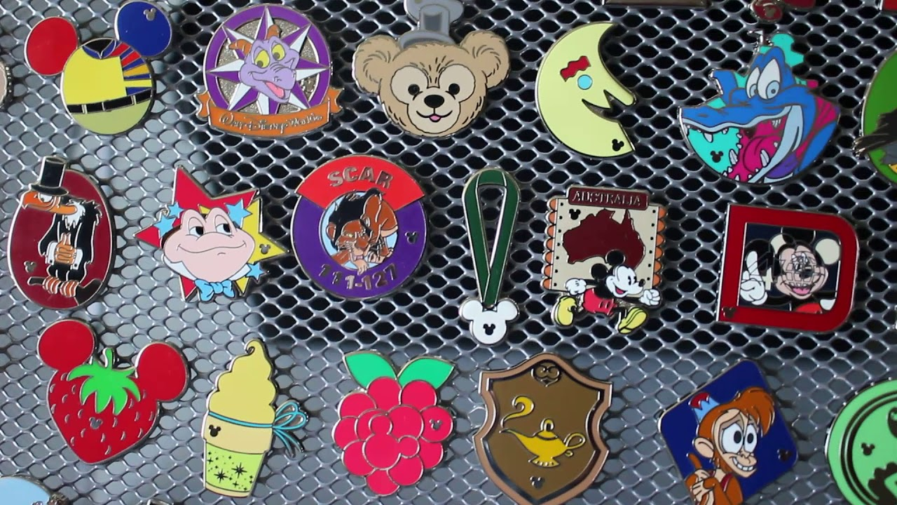 Completer Hidden Mickey pins ~ what are they? - YouTube
