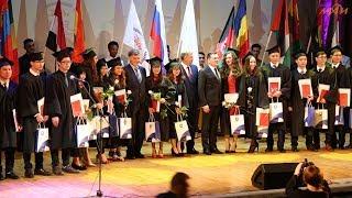 Первый выпуск студентов из Турции и Монголии