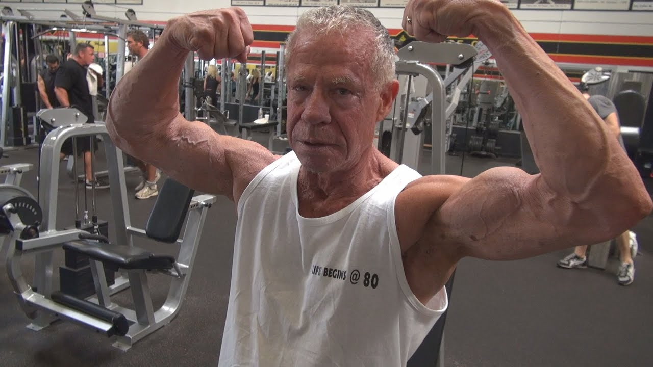 81 Year Old Bodybuilder Jim Arrington's Complete Body Workout