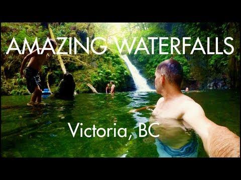 "Canada - Victoria BC ""Amazing Waterfalls"" Episode 2"