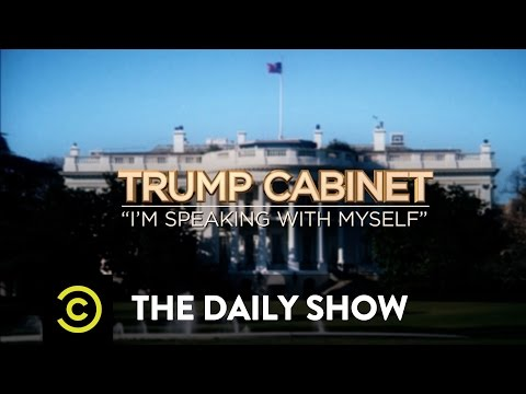The Daily Show - Imagining Donald Trump's Cabinet