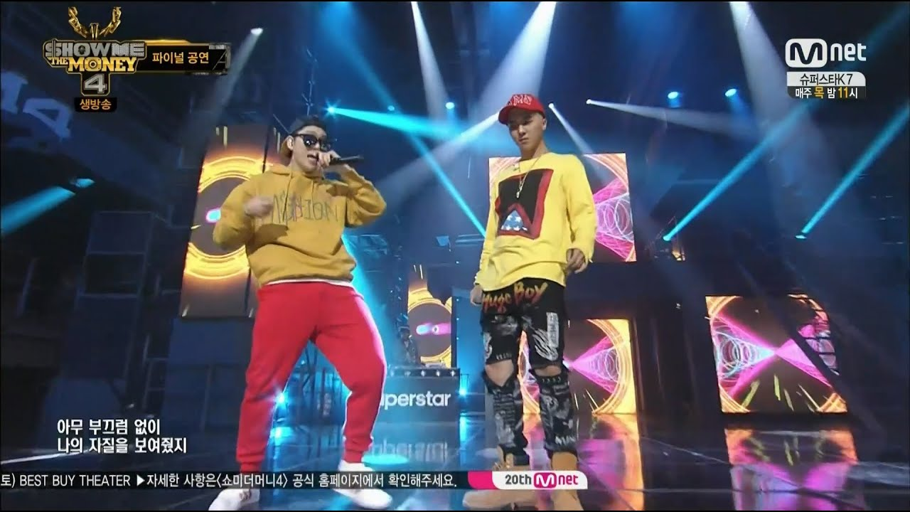 SONG MINHO OKEY DOKEY with ZICO 0828 Mnet SHOW ME THE MONEY 4