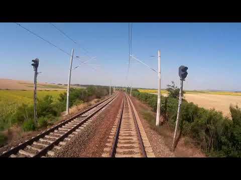 Train Cab Ride Bulgaria: Stara Zagora - Dimitrovgrad