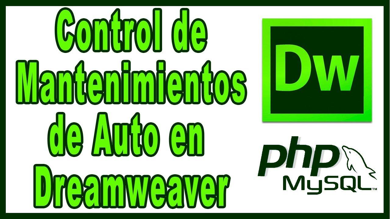 Control de Mantenimientos de Automóviles - YouTube