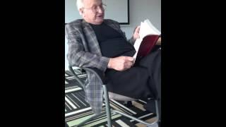 Marcel Weyland reads his translation of Tuwim