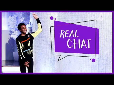 REAL CHAT with Caleb McLaughlin