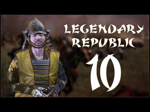 HALTING THE SAYAMA - Obama (Legendary Republic) - Fall of the Samurai - Ep.10!