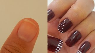 Alongamento Das Unhas Com Pet| Rose Hapuque