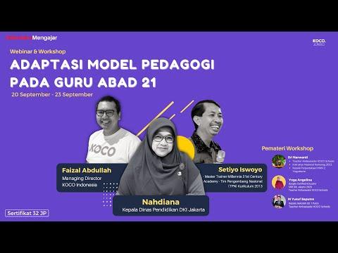 Moderator Webinar Adaptasi Model Pedagogi Pada Guru Abad 21