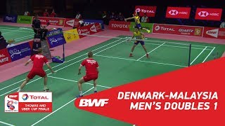Thomas cup | md1 | conrad-petersen/kolding (den) vs goh/tan (tpe) | bwf 2018