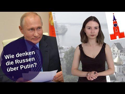 Wie denken die Russen über Putin?