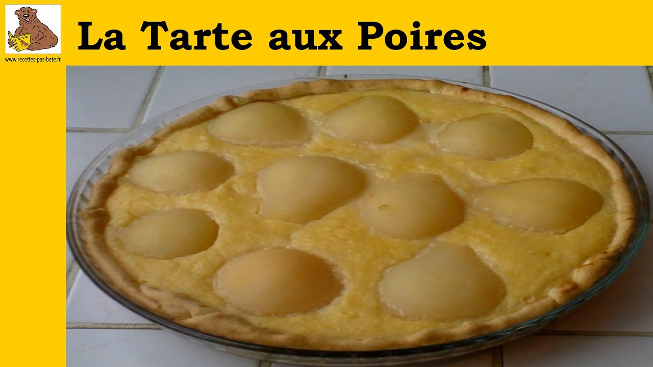 la tarte aux poires recette rapide et facile hd youtube. Black Bedroom Furniture Sets. Home Design Ideas