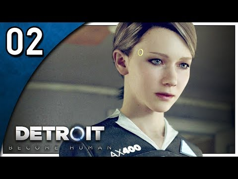 Let's Play Detroit: Become Human Part 2 - A New Home [PS4 Gameplay]