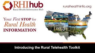 Introducing the Rural Telehealth Toolkit
