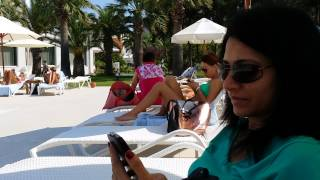 Hotel Le Bleu,  Kusadasi, Turkey.  Pool view