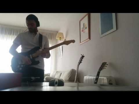 David Gilmour - On an island (guitar solos cover)