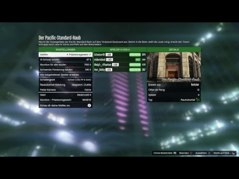 GTA 5 Online Big Ceo Payout 3.6 Mio (German) Money for Gunru