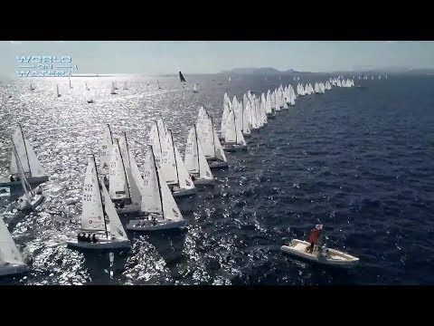 World on Wter TV September 22 17 J70's,  Monaco Classics, GC 32, Rolex Big Boats, 505's, Marina Bay
