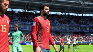 Alemania vs España FIFA 18