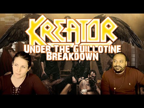 KREATOR Under The Guillotine Reaction!!!