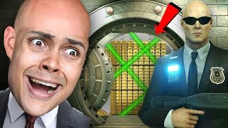 HITMAN STEALS FROM A BANK (Hitman 2)