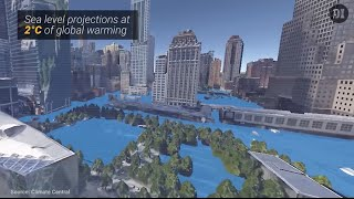New York Might Look Like This As Sea Levels Rise