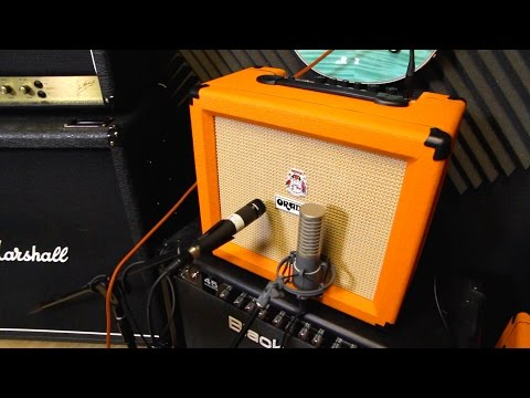 Orange Crush Guitar Practice Amps - New for 2015