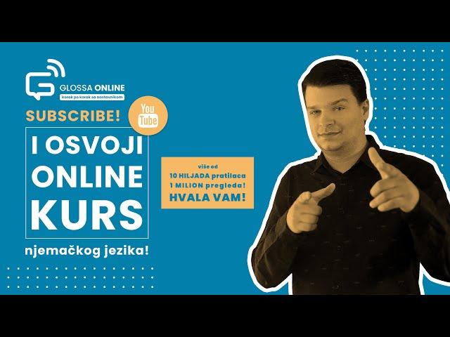 Izvlačenje dobitnka Glossa online kursa - HVALA VAM! ❤️