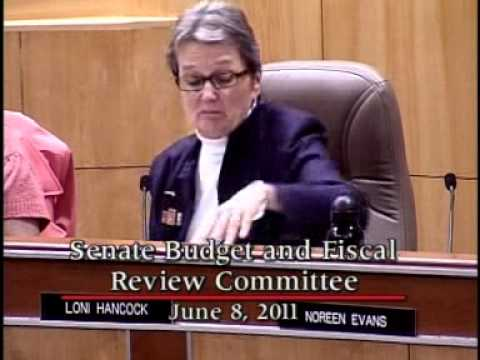 Senate Budget and Fiscal Review Committee 2/2   6/8/2011