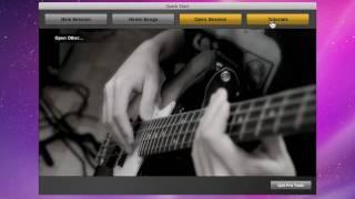 Pro Tools® SE Quick Start Menu - Mac OS X & Windows 7 - Guided Tour