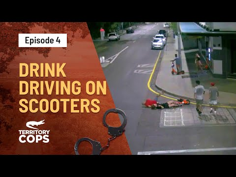 Drink Driving On Electric Scooters   Territory Cops   Channel 10