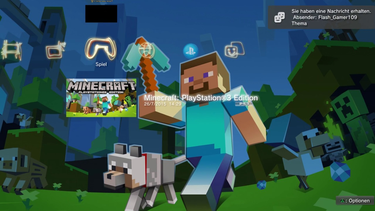 Minecraft PS3 & PS4 MAPS DOWNLOADEN! | TUTORIAL - YouTube