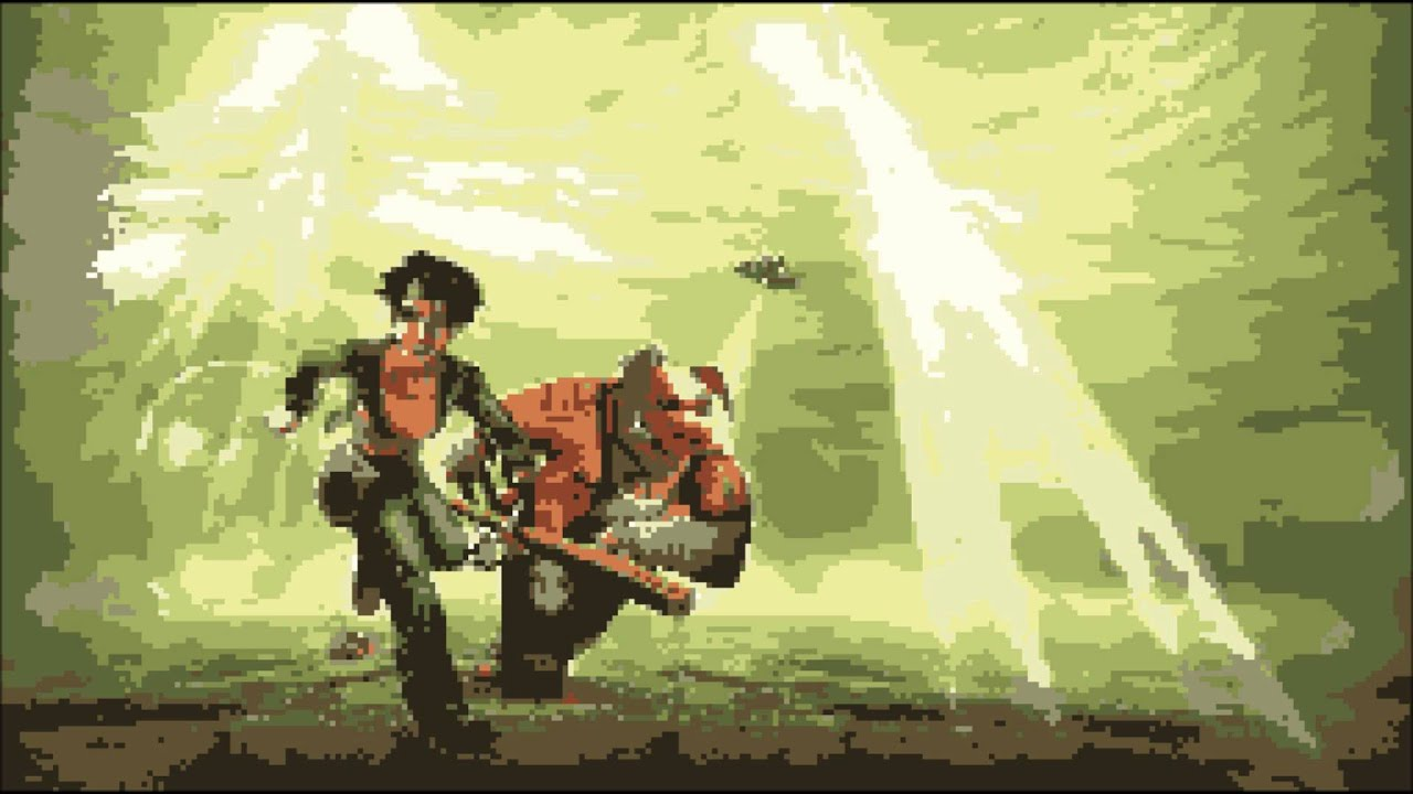 Beyond Good and Evil - Home Sweet home 8-bit Remake - YouTube
