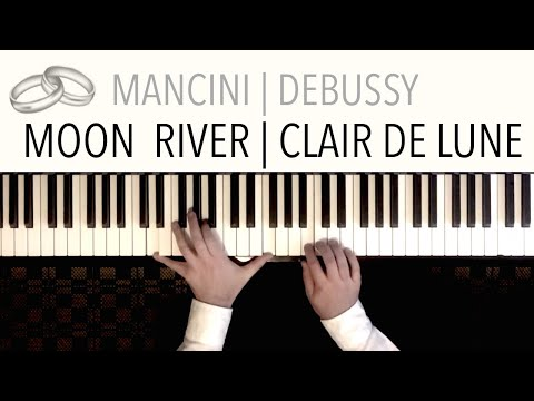 Moon River / Clair de Lune (Wedding Version - Bridal Waltz) | Piano Cover Paul Hankinson